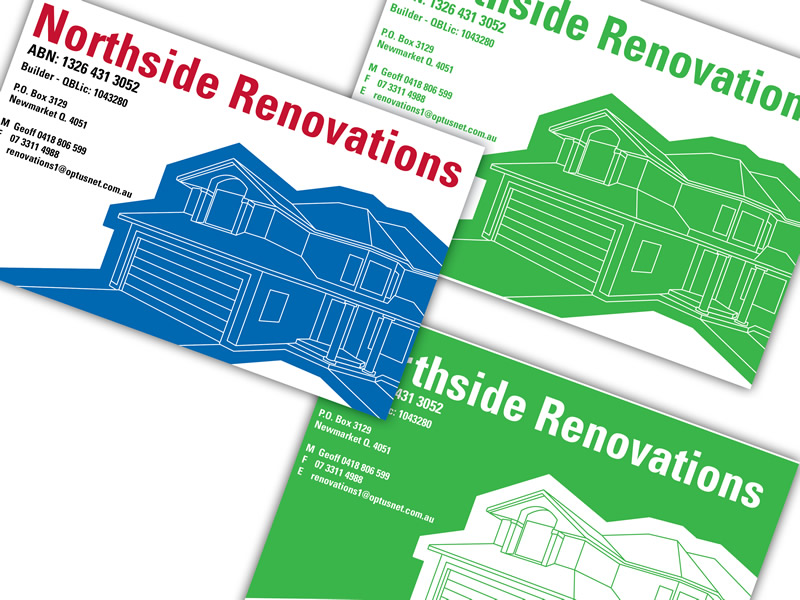 Northside Renovations Branding.