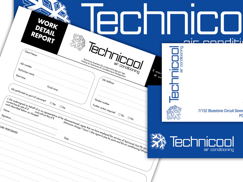 Technicool's design and branding.